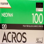 Fuji Black & White 120 Roll Camera Film